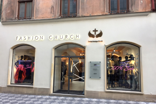 Fashion store Prague
